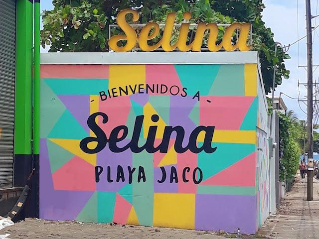 Selina Jaco mural