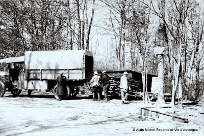 Photo noir et blanc de la guerre de 1914-1918.