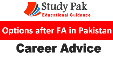 Options after fa in Pakistan
