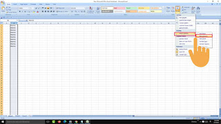 hide multiple columns in excel