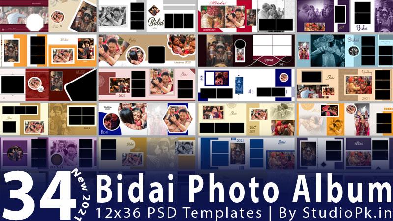Bidai Photo Album PSD Templates