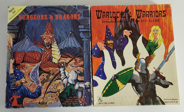 Holmes Basic D&D with Warlocks & Warriors Boxes