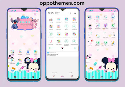 Cute Minnie Theme For Oppo & Realme Android