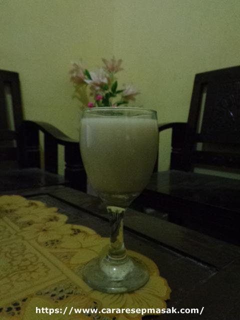 Cara membuat jahe susu