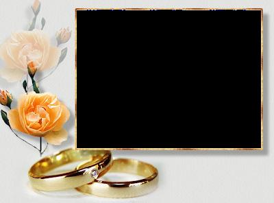 Resultado de imagen para Marcos para fotos de boda animados