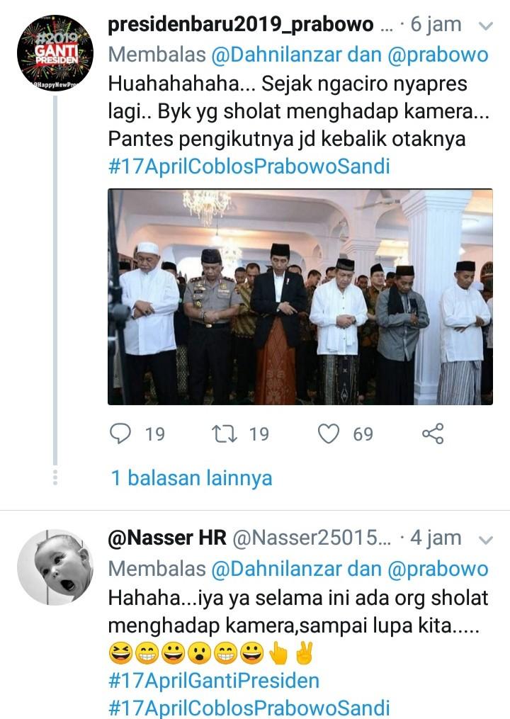 Dahnil Sindir Shalat Hadap Kamera, Begini Sambutan Heboh Netizen