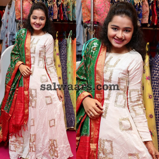 Crushed Salwar with Full Sleeves