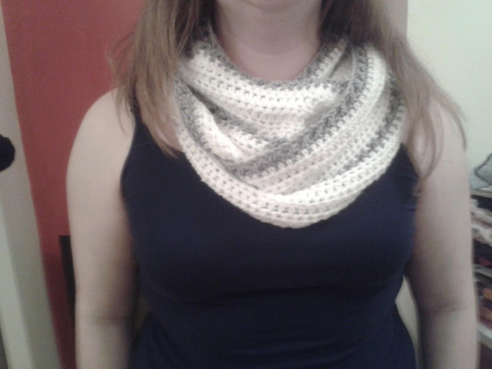 Tejiendo Crochet: Bufanda Infinita Crochet