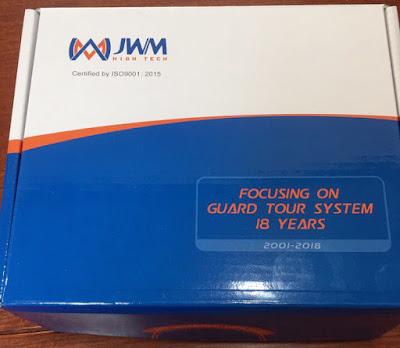 Hộp sản phẩm máy tuần tra bảo vệ Hightech JWM