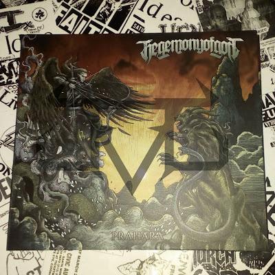 Album Review : Hegemony Of God - Prahara ( 2017 )