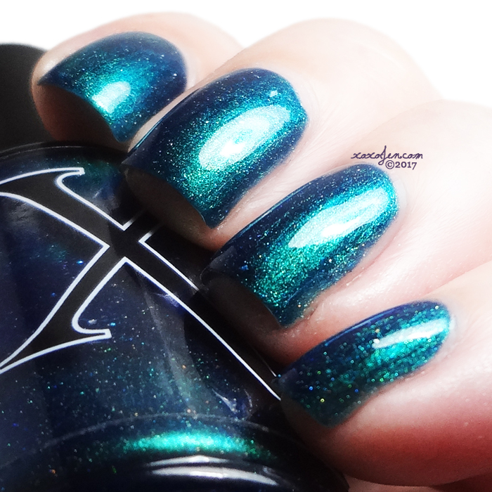 xoxoJen's swatch of Baroness X Tesseract