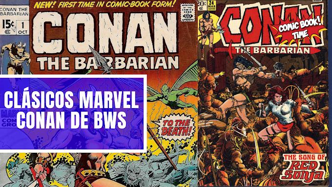Clásicos Marvel: 'Conan el bárbaro' de Barry Windsor-Smith