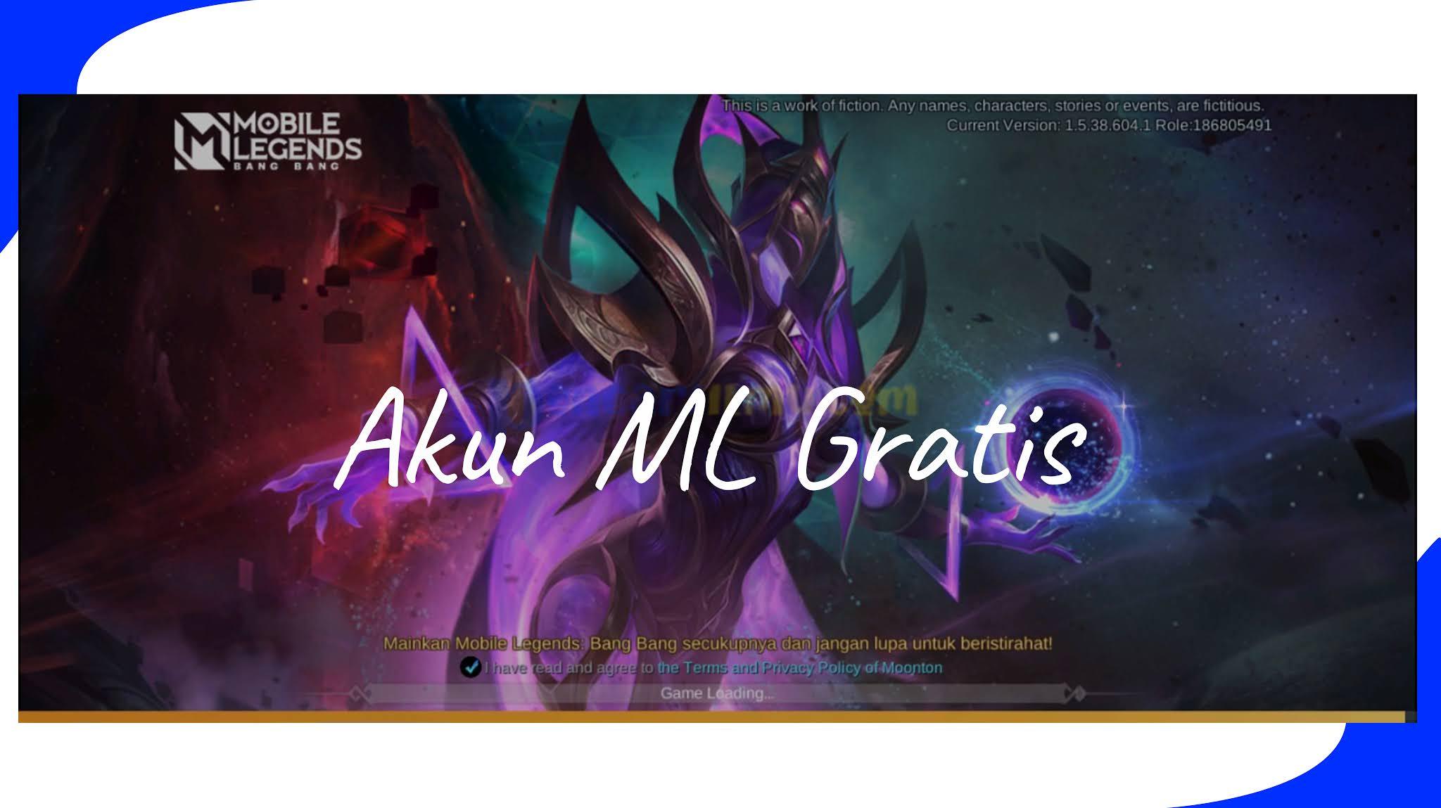 Akun Ml Sultan Dan Mythic Gratis