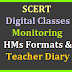 T SAT SCERT Digital Classes HMs/ Teachers Diary and other Formats Download Here