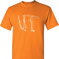 @ University of Tennesee T-shirt by Florida 4th grader