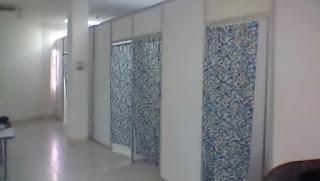 Pemasangan Fitting Room di Aeon Mall