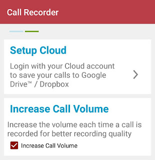 Setup cloud & increase call volume