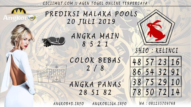 PREDIKSI MALAKA POOLS 20 JULI 2019