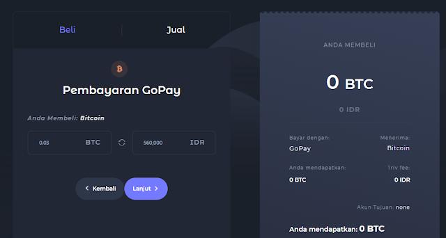 Ada GoPay di Triv, Transaksi Semakin Mudah