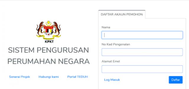 Permohonan PPR Disewa/ Dimiliki Dan MyHome 2020 Online (Semakan Status)