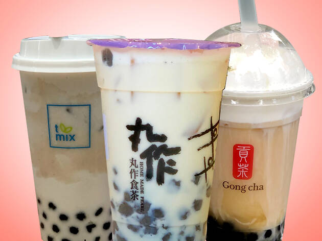 bubble tea, milk tea