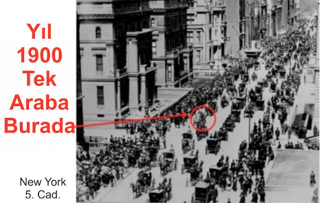 Arabalar nerede yıl 1900