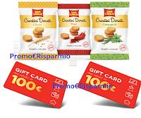 Logo Concorso Crostini San Carlo regalano ogni giorno una Gift Card da 100 euro  ( 62 premi)