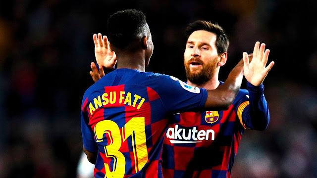 ثنائية تاريخية تعيد برشلونة للانتصارات في الدوري الإسباني
