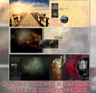Wedding Album Design Templates