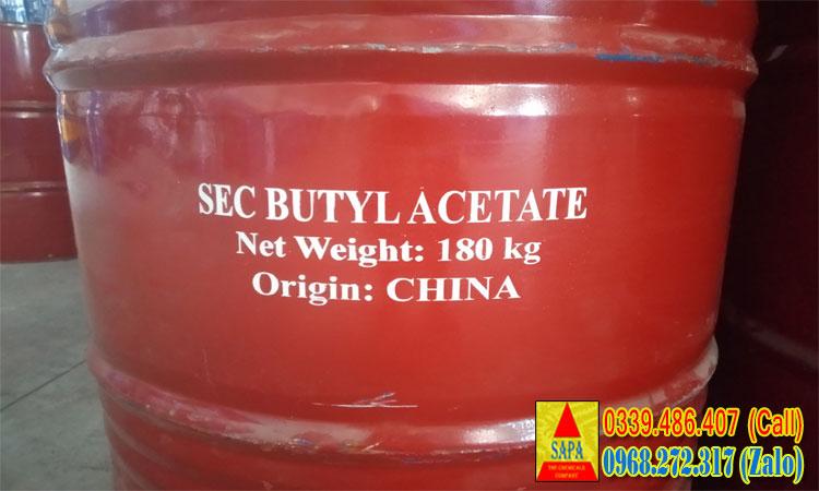 Dung môi Butyl Acetate (n - BAC) dùng trong ngành sơn, tẩy rửa,...