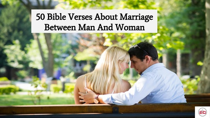 Bible Verse About Marriage Between Man And Woman