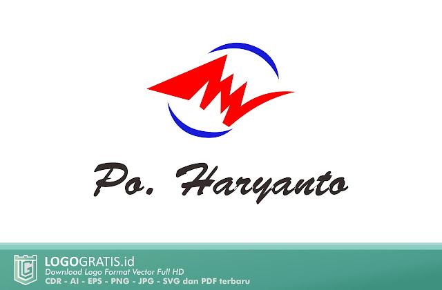 Logo PO Haryanto Bis Raja Pantura Photoshop Ilustrator CorelDraw Terbaru Haryanto Mania Pantura