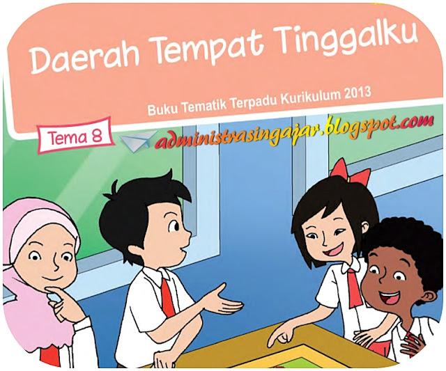 Kunci Jawaban Tema 8 Kelas 4 Daerah Tempat Tinggalku Kurikulum 2013