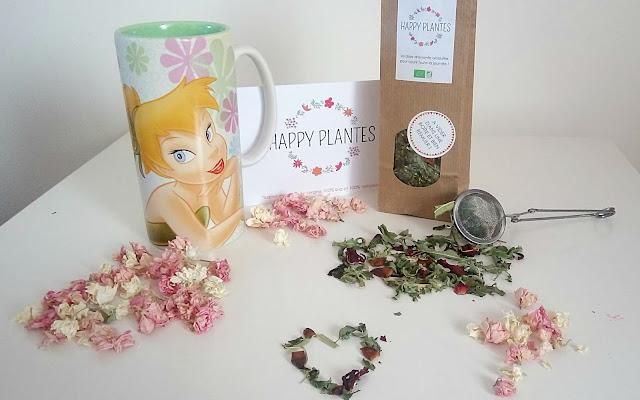 tasse fée clochette, tisane happy plantes, avis