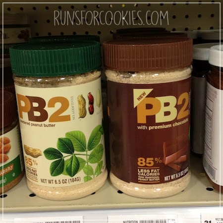 powdered peanut butter (PB2)