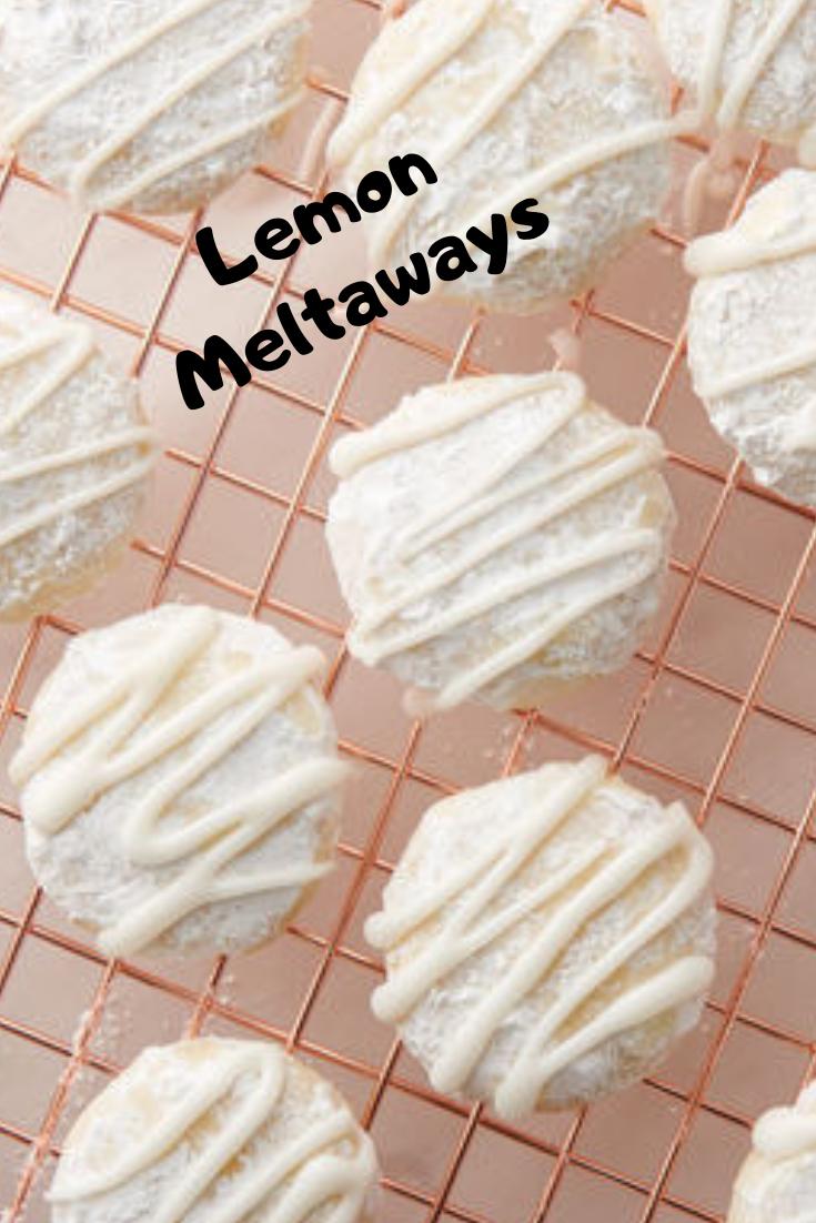 #Lemon #Meltaways #Dessert #Easyrecipe