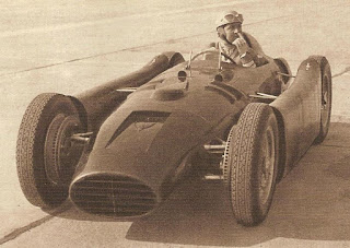 Photo of Alberto Ascari in the Lancia D50