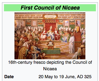 romes constantine and the council of nicea Council of constantinople introduction nicea 1 was convened to bring about unity for constantine religious unity avoided political division 50 after nicea constantine calls 2nd ecumenical council of constantinople 381.