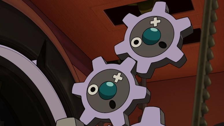 Klink Anime Pokémon
