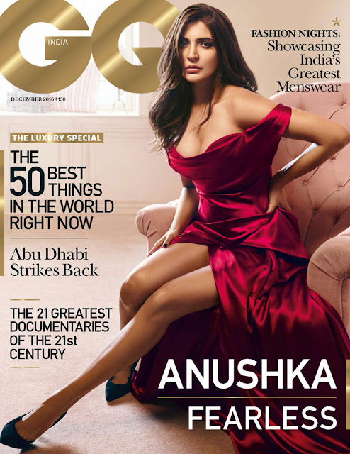 Anushka Sharma's GQ Magazine 2016 Hot Photos