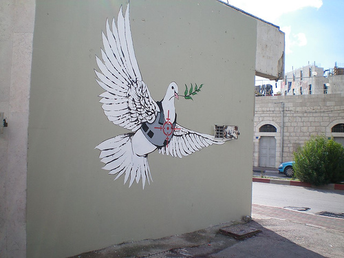 Well-known The World of Banksy Art : Banksy Graffiti in Palestine XK03