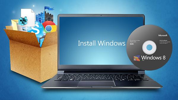 كيف تقوم بتثبيت الويندوز على حاسوبك بدون استعمال قرص cd/dvd،أو USB !