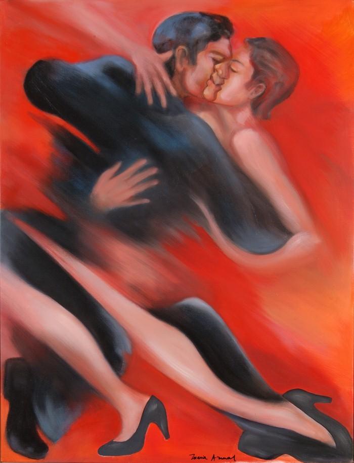 Танцы в картинах. Maria Amaral 11