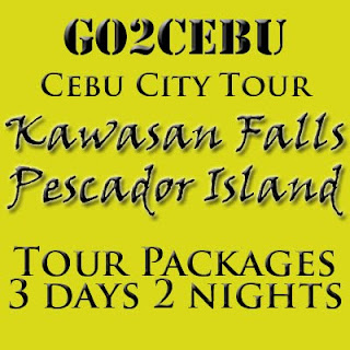 Cebu City + Kawasan Falls Nature Trek + Pescador Island Hopping in Cebu Tour Itinerary 3 Days 2 Nights Package