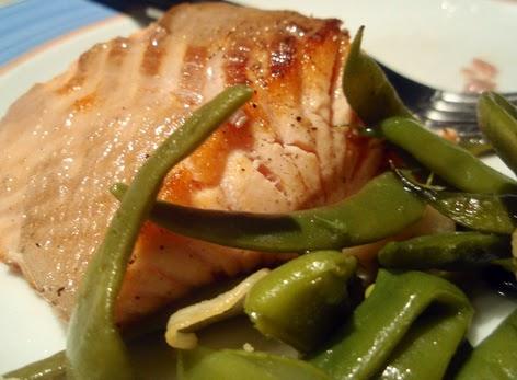 Salm n con jud as verdes formas saludables de cocinar el for Cocinar judias verdes de bote