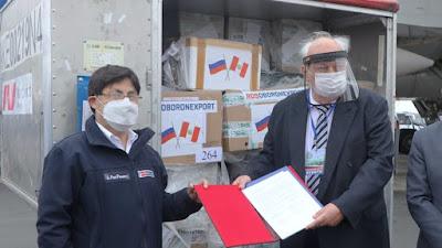 Rusia donó al Perú 50,000 pruebas moleculares valorizado en más de 216,000 de dólares