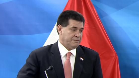 Expresidente paraguayo Horácio Cartes