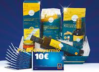 Logo Aldi ''Il Natale che ti premia'': vinci cesti di prodotti e buoni spesa da 100€