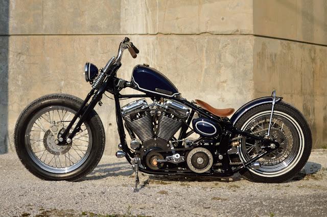 Harley Davidson By Kid Custom Factory Hell Kustom