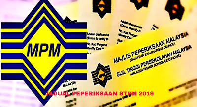 Jadual Peperiksaan STPM 2019 Tarikh Penting